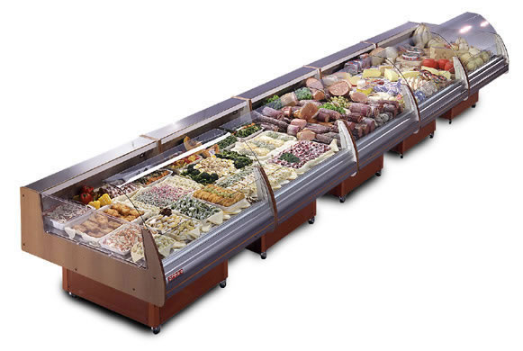 Commercial Refrigeration Equipment Case For Fresh Meats